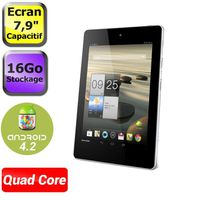 Tablettes ACER ICONIA TAB A1810 BLANC 16GO 7.9\