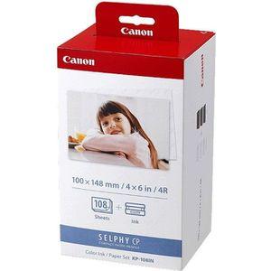 CARTOUCHE IMPRIMANTE Canon Kit KP-108IN  + papier