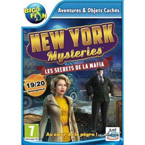 JEU PC New York Mysteries Les Secrets de la Mafia Jeu PC