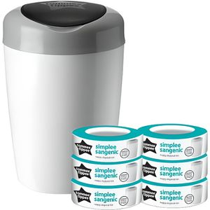 TOMMEE TIPPEE Starter Pack Sangenic SIMPLEE - 1 bac + 6 recharges