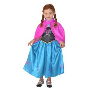 CESAR - F577 - Cape Robe princesse des Neiges - 5 / 10 ans