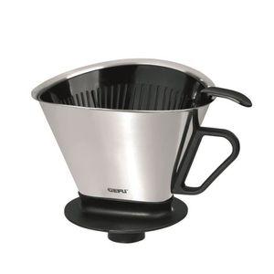 GEFU ANGELO Filtre ? café 16000 ?15cm noir et gris