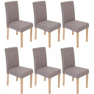 chaises de salle a manger 6 en tissu achat vente chaises de salle a manger 6 en tissu pas. Black Bedroom Furniture Sets. Home Design Ideas