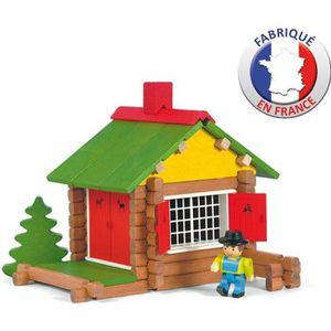 ASSEMBLAGE CONSTRUCTION JEUJURA - Mon Chalet en Bois 70 pièces