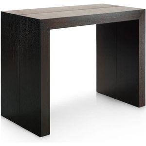 CONSOLE EXTENSIBLE Table Console Nassau XL Bois wenge
