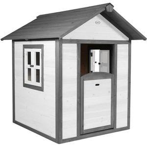 MAISONNETTE EXTÉRIEURE SUNNY Maisonnette Enfant Cabane en bois Lodge