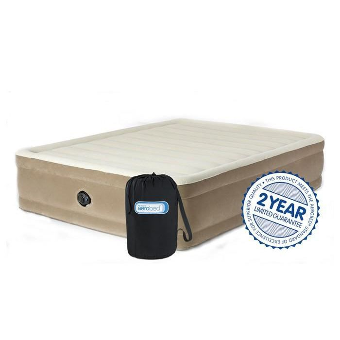 Matelas gonflable comfort raised 160 x 200 cm achat vente lit gonflable airbed cdiscount - Matelas pneumatique gonflable ...