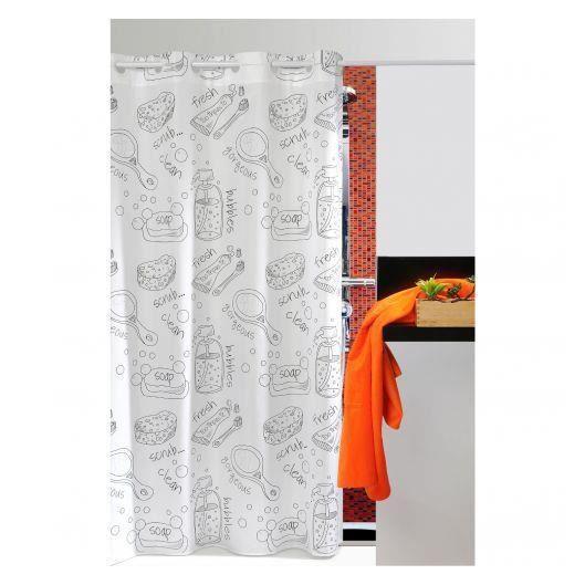 Rideau de douche bath atenas achat vente rideau de - Rideaux de douche originaux ...