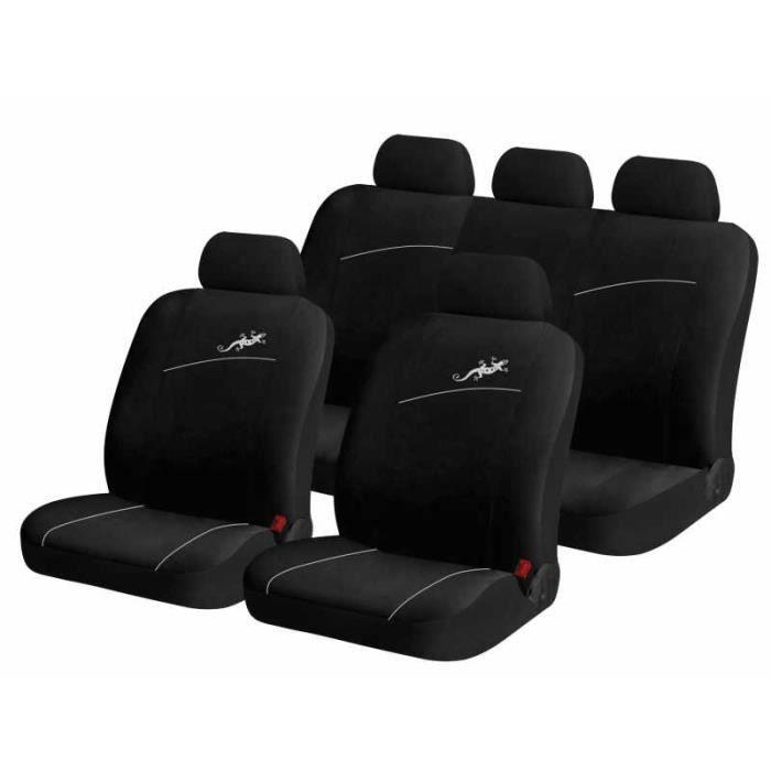 housse pour siege de voiture auto gecko blanc 9 pi achat vente housse de si ge housse pour. Black Bedroom Furniture Sets. Home Design Ideas