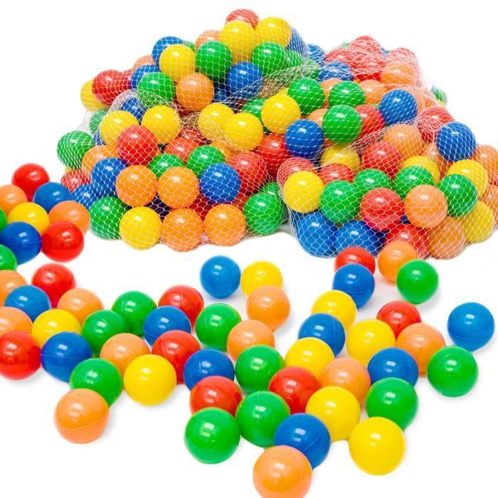 Balles color es de piscine 10000 pi ces achat vente for Piscine a balles