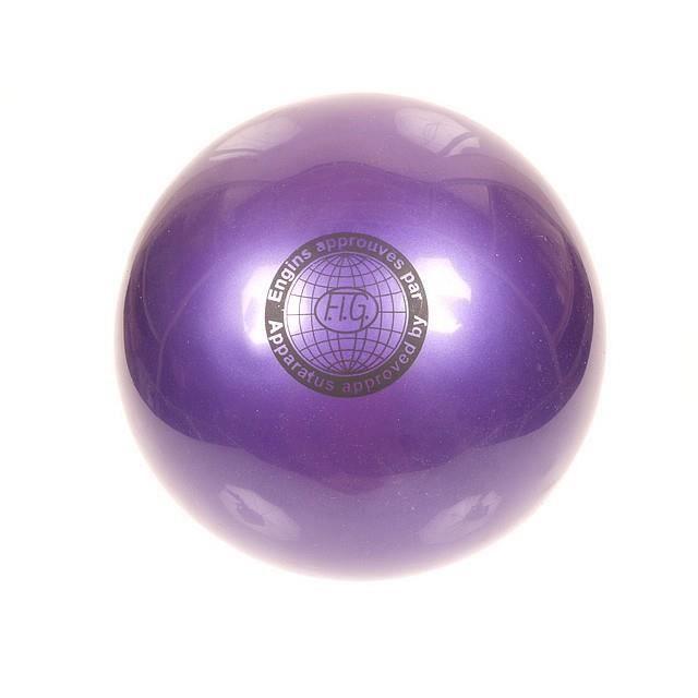 BALLON DE GYMNASTIQUE Accessoire gymnastique Grs 190 violet