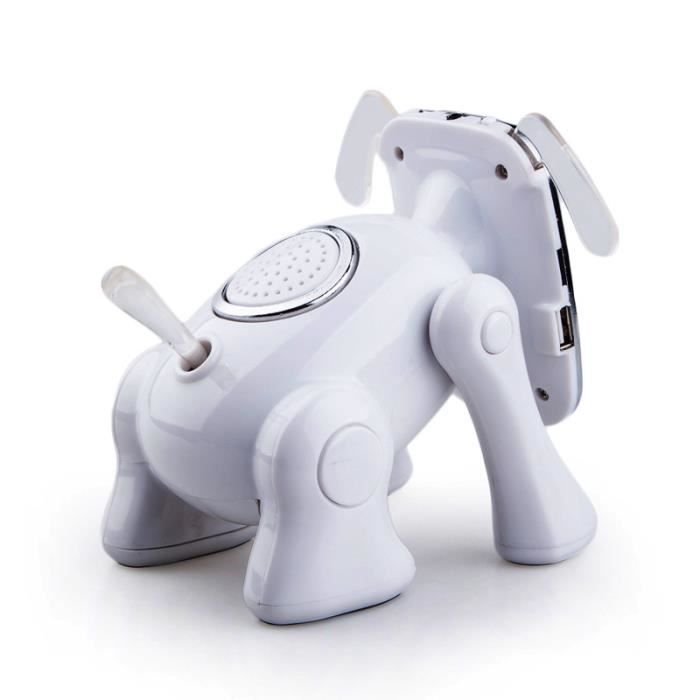 enceints bluetooths t l phone portable mini enceints bluetooth forme robot de cartoon chien. Black Bedroom Furniture Sets. Home Design Ideas