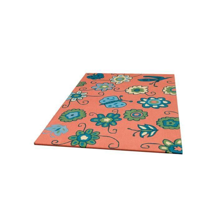 benuta tapis enfants joy orange 120x180 cm achat vente tapis cdiscount. Black Bedroom Furniture Sets. Home Design Ideas