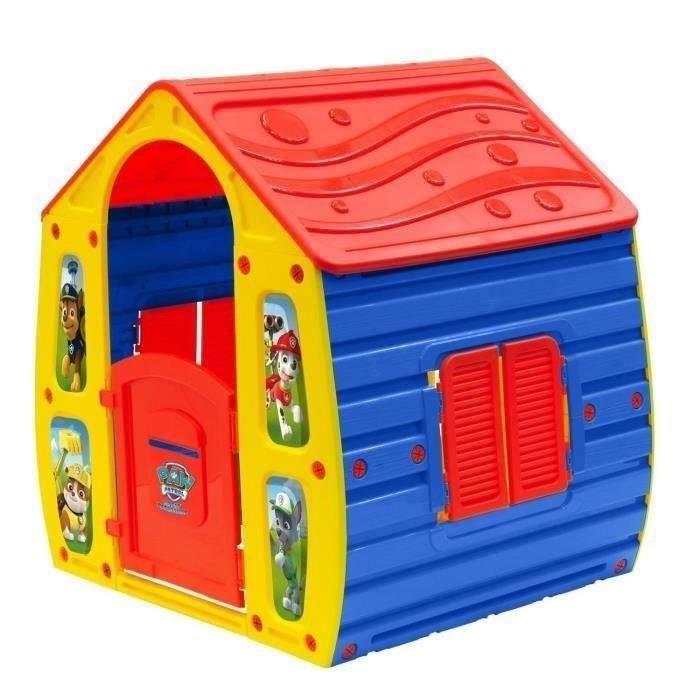 pat patrouille maison enfant achat vente maisonnette ext rieure cdiscount. Black Bedroom Furniture Sets. Home Design Ideas