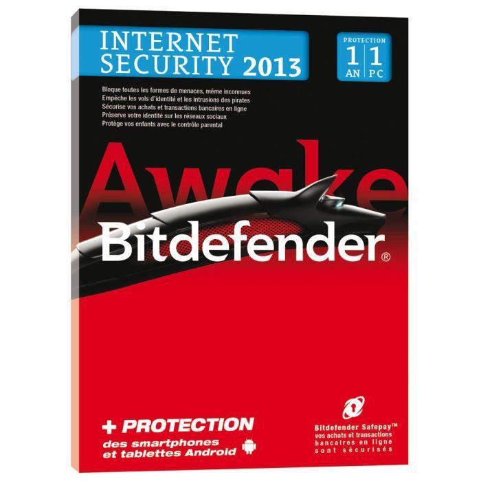 ANTIVIRUS Bitdefender Internet Security 2013 - 1 An 1 PC