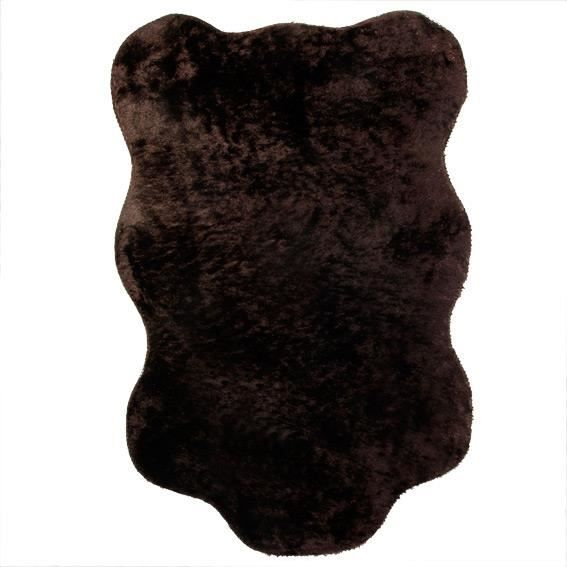 tapis peau de b te peluche chocolat achat vente tapis cadeaux de no l cdiscount. Black Bedroom Furniture Sets. Home Design Ideas