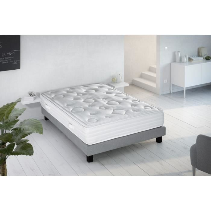 creasom matelas visco confort 140x190 cm ressorts equilibr 912 ressorts ensach s 2. Black Bedroom Furniture Sets. Home Design Ideas