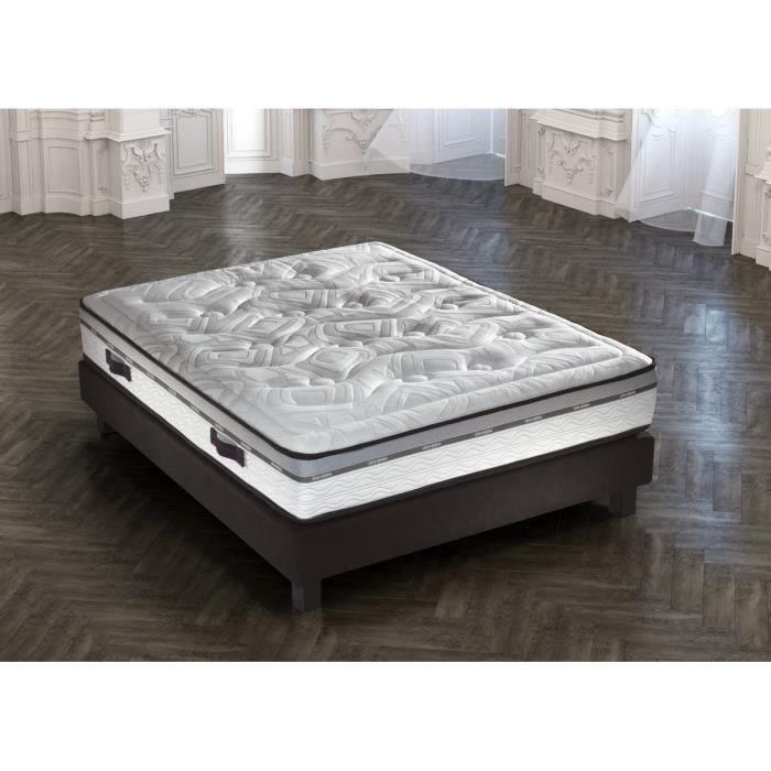 crown bedding matelas sublime 140x190 cm ressorts equilibr 722 ressorts ensach s 2. Black Bedroom Furniture Sets. Home Design Ideas