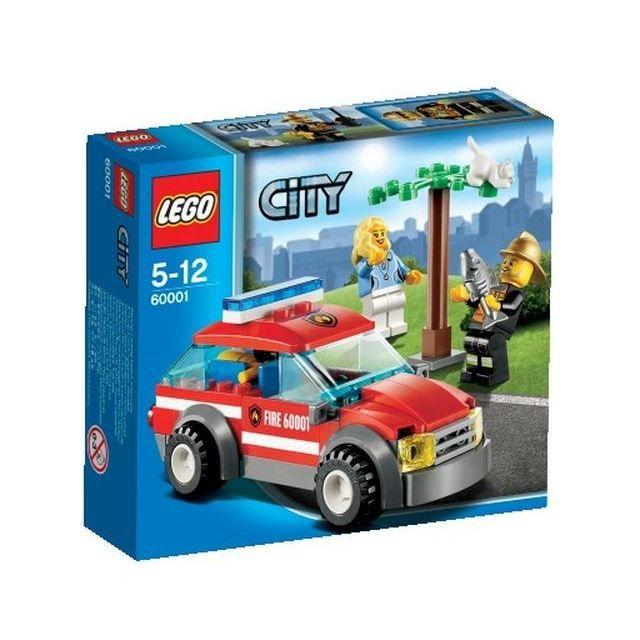 LEGO City 60001 pas cher  La voiture du chef des pompiers