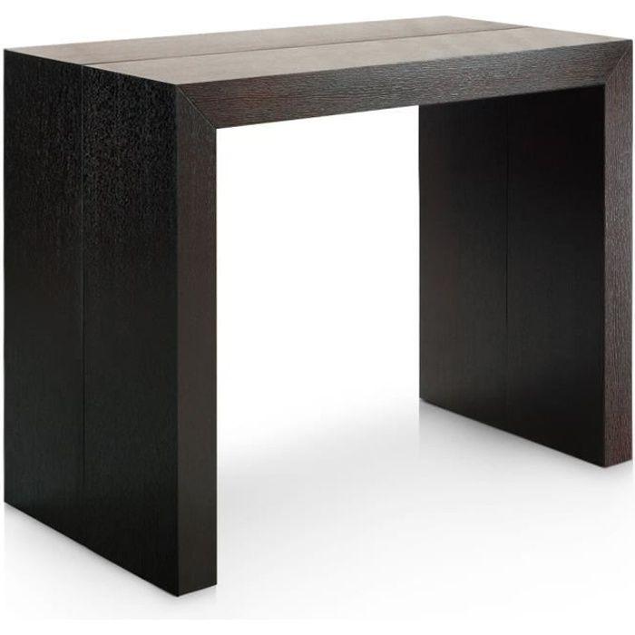 Table Console Nassau Xl LaquÉE Blanc  Dvl deco  Table Console Nassau Xl
