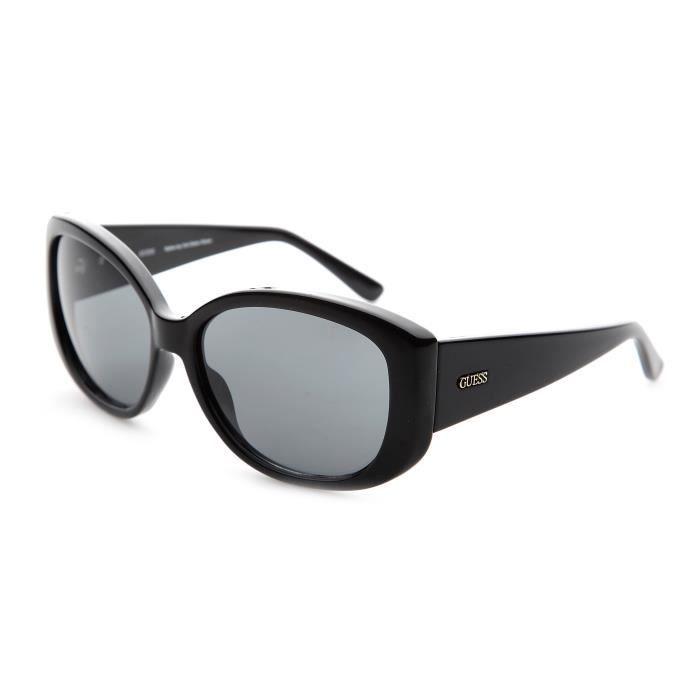 lunettes de soleil femme guess noir achat vente lunettes de soleil femme adulte noir cdiscount. Black Bedroom Furniture Sets. Home Design Ideas