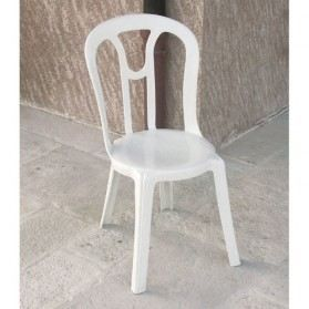 Chaise empilable Antea - blanc
