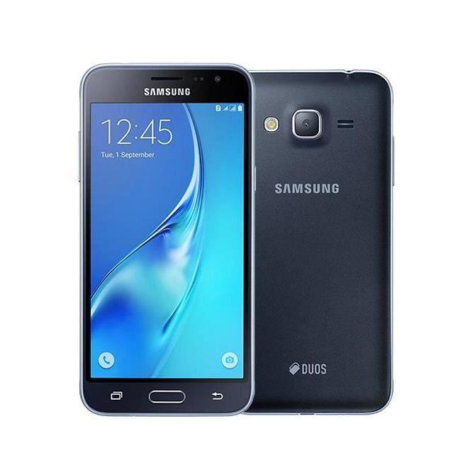 sam galaxy j3 4g 8go noir smartphone d bloqu achat smartphone pas cher avis et meilleur prix. Black Bedroom Furniture Sets. Home Design Ideas