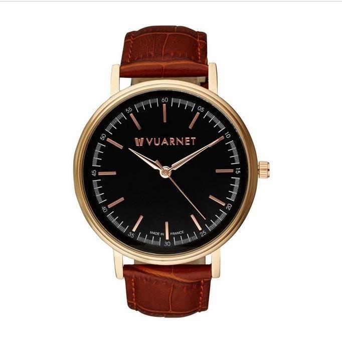 vuarnet montre homme marron classique achat vente montre cdiscount. Black Bedroom Furniture Sets. Home Design Ideas