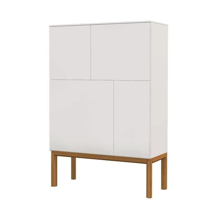 Tenzo armoire de chambre 92 cm laqu blanc achat - Model armoire de chambre ...