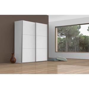 Armoire chambre hauteur 150cm achat vente armoire for Porte coulissante 150 cm