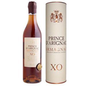 DIGESTIF EAU DE VIE Armagnac XO Prince D'Arignac  40° 70cl canister