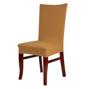 Housse de chaise salle a manger achat vente housse de for Chaise de salle a manger de couleur