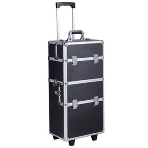 valise de coiffure achat vente valise de coiffure pas cher cdiscount. Black Bedroom Furniture Sets. Home Design Ideas