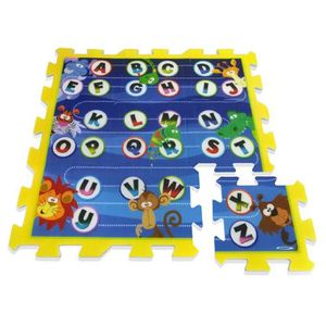 TALKIE-WALKIE JOUET STAMP Tapis Puzzle bébé en Mousse Lettres et Anima
