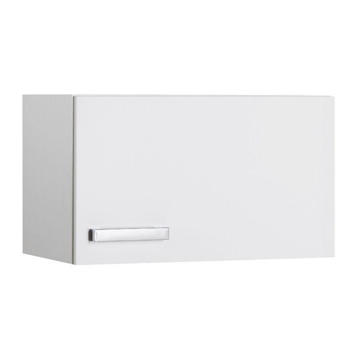 Suny meuble haut de cuisine 60 cm 1 porte blanc achat - Meuble etroit et haut ...