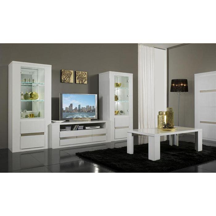 Ensemble meuble tv pour cran plasma et 2 colonnes achat - Meuble pour television ...