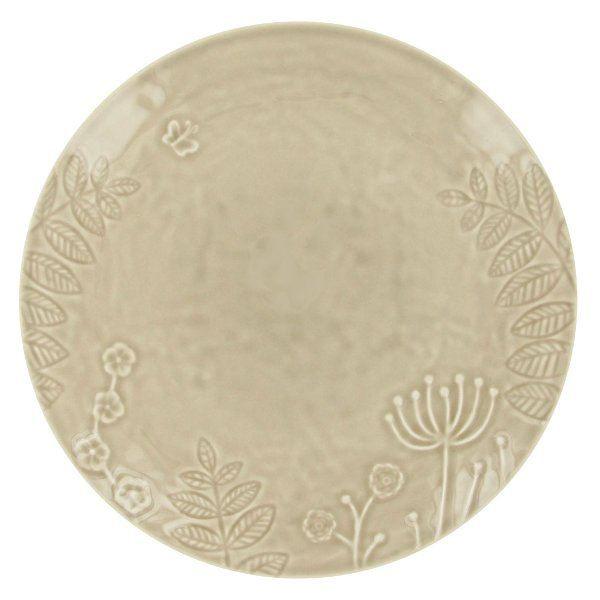 6 assiettes plates rondes 28 cm poeme gris ma achat. Black Bedroom Furniture Sets. Home Design Ideas