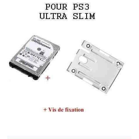 disque dur 1000 go support disque dur pour playstation ps3 ultra slim achat vente disque. Black Bedroom Furniture Sets. Home Design Ideas