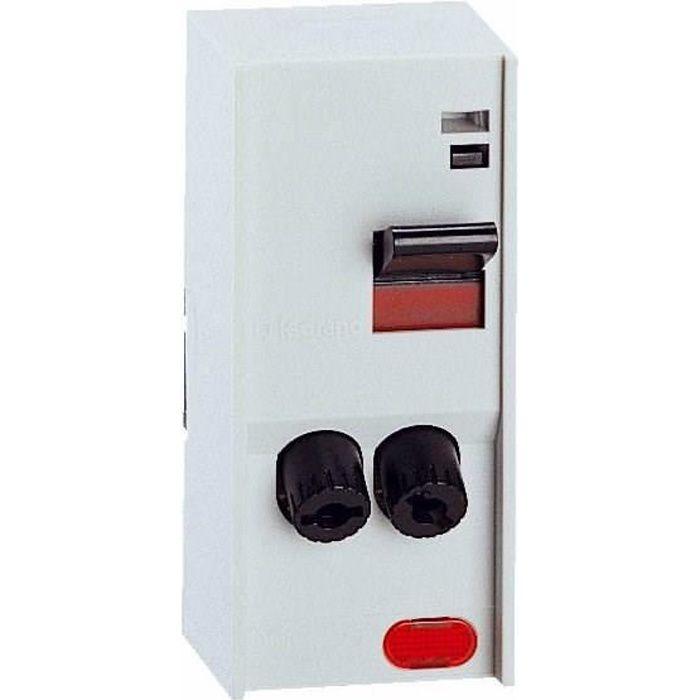 Legrand interrupteur pac avec cartouche fusible 2 p les for Interrupteur exterieur legrand