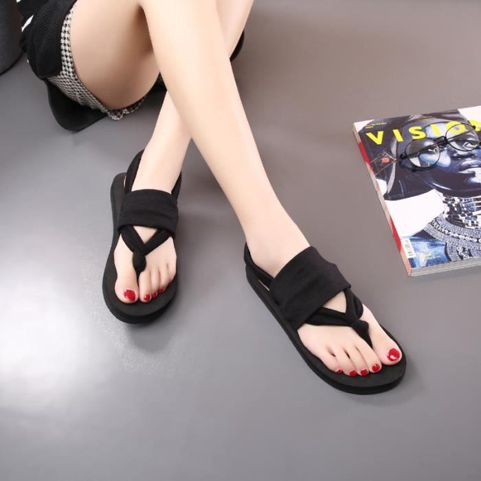 ... mode femme boheme sandales yoga plage chaussure to c3023443d1a