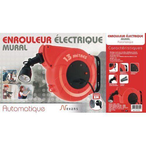 Nexans 10210343 enrouleur automatique h05vv f 3 achat - Enrouleur electrique vide ...