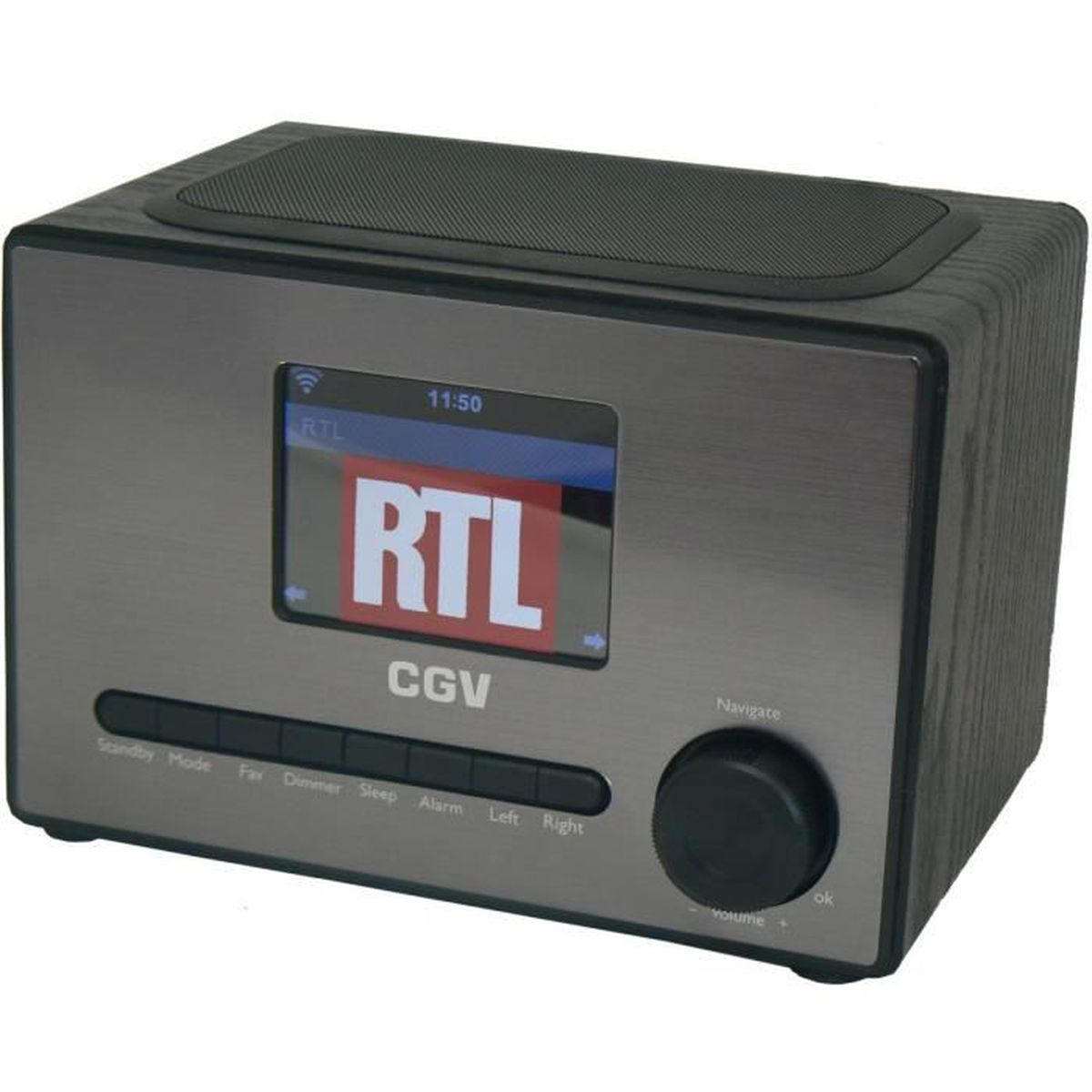 Radio num rique cgv dr 20i radio cd cassette avis et for Radio numerique portable