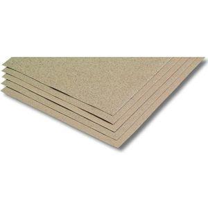 NESPOLI 5 Feuilles papier de verre grains assortis