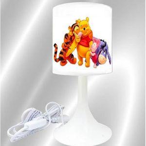 LAMPE A POSER lampe chevet winnie tigrou porcinet bourriquet