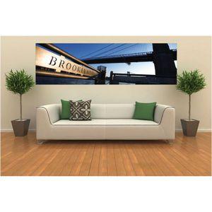 papier peint panoramique brooklyn achat vente papier peint cdiscount. Black Bedroom Furniture Sets. Home Design Ideas