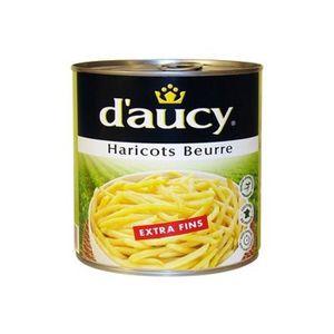 D'Aucy haricots beurre extra fins 440g (Prix Par Unité) Envoi Rapide Et Soignée