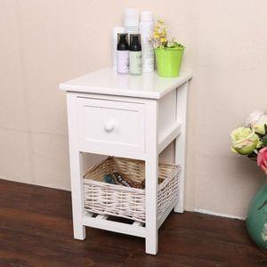 table de chevet 25 cm achat vente table de chevet 25 cm pas cher cdiscount. Black Bedroom Furniture Sets. Home Design Ideas