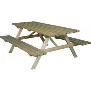 TABLE DE JARDIN  Table pique-nique 200 cm LIZ