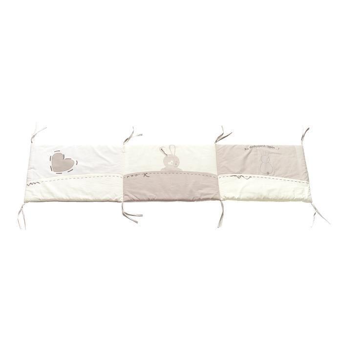 thermobaby tour de lit au dodo petit lapin achat vente. Black Bedroom Furniture Sets. Home Design Ideas