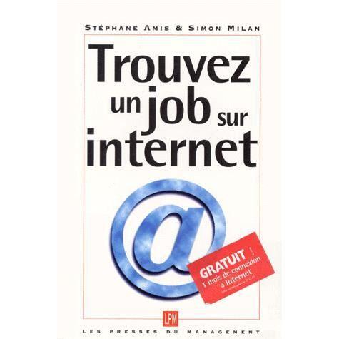 trouver un job sur internet achat vente livre